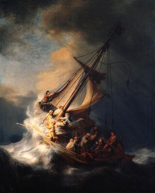 Peinture de Rembrandt / domaine public